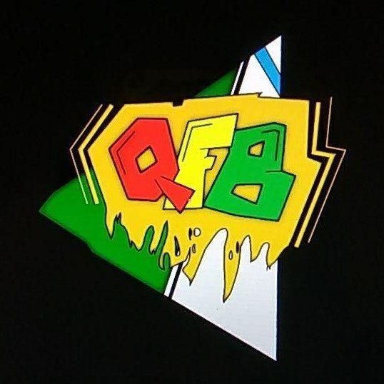 Logo de QFB nos anos 90